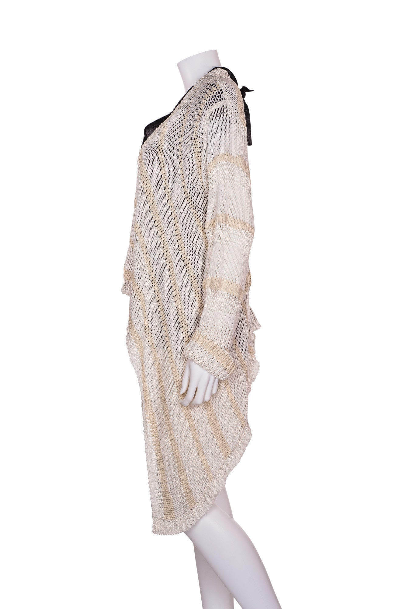 RACHEL ZOE Oversized Open Knit Sweater