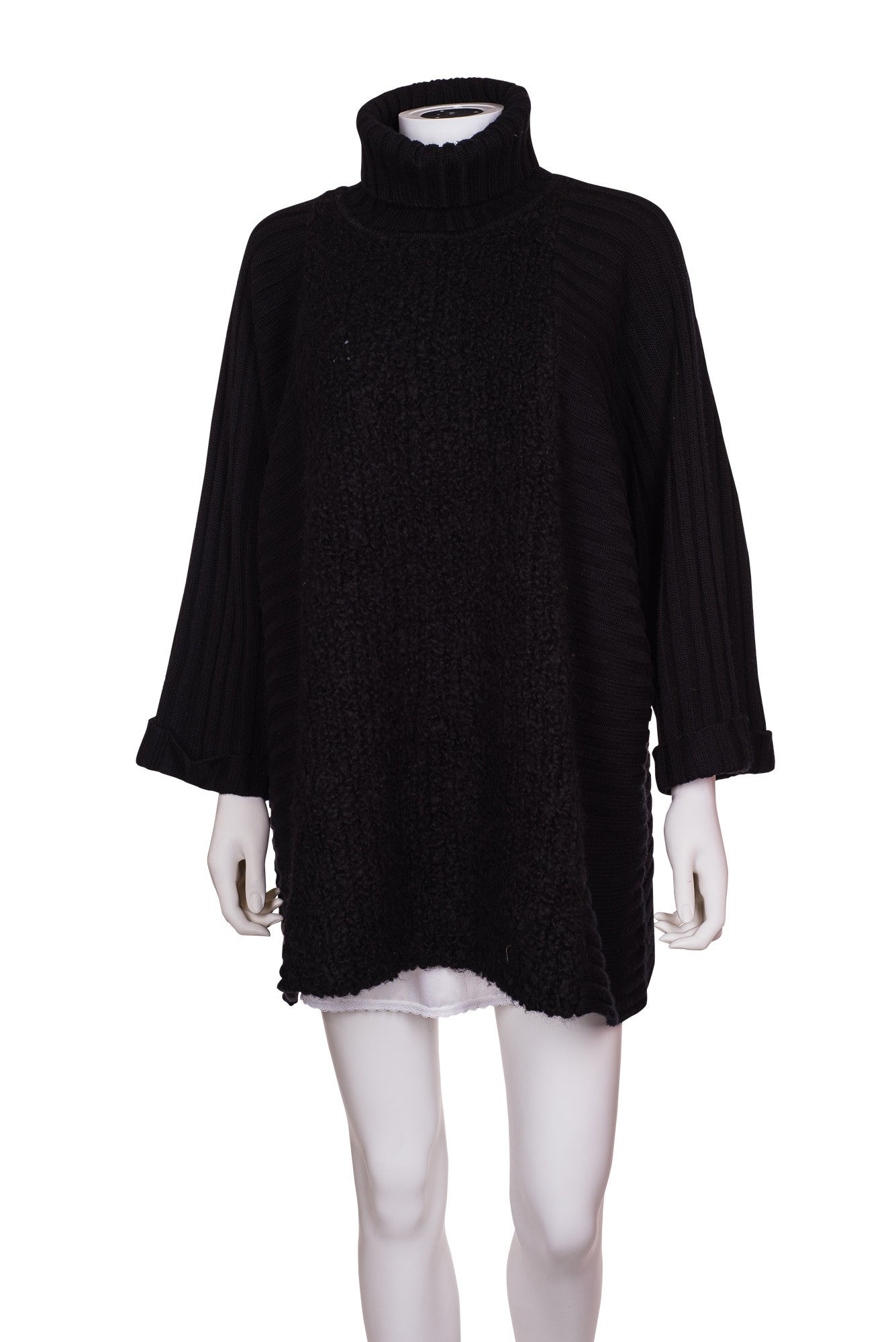 JAEGER Poncho Sweater