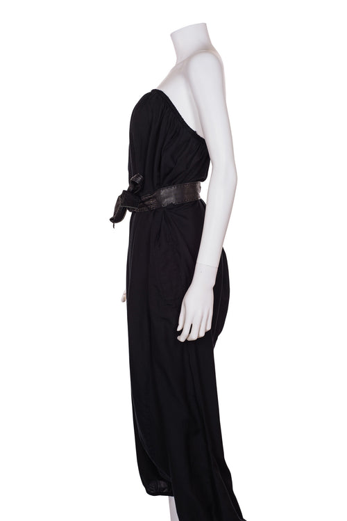 DONNA KARAN COLLECTION Strapless Harem Jumpsuit