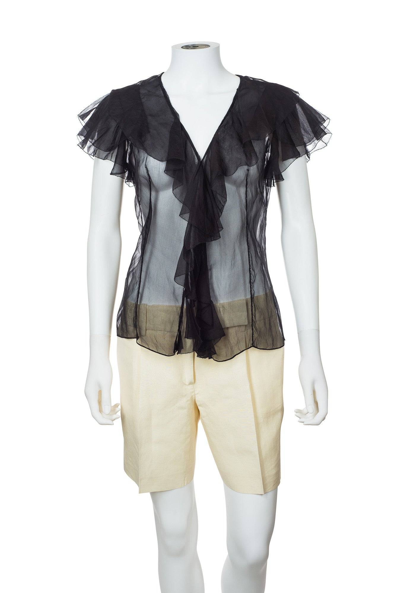 Ralph Lauren Sheer Blouse