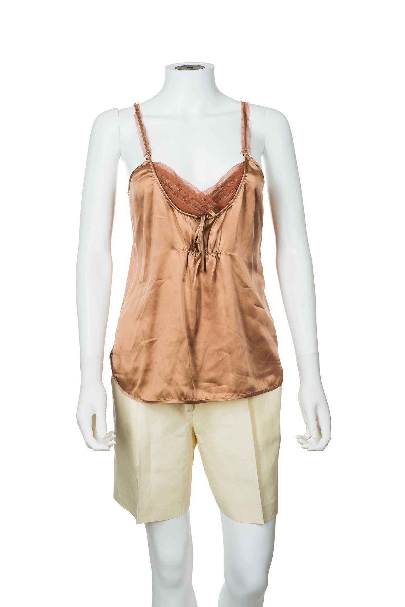 Nougat London Silk Camisole