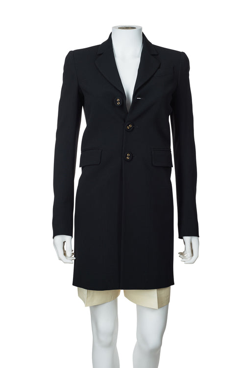 DSQUARED2 Slit Back Button Blazer