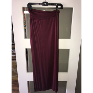 Ruby Fold Over Maxi Skirt