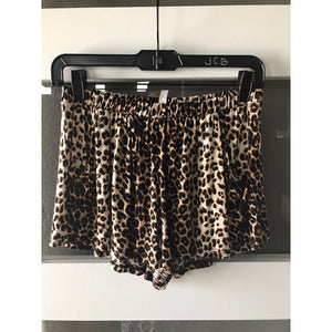 Leopard Print Summer Shorts