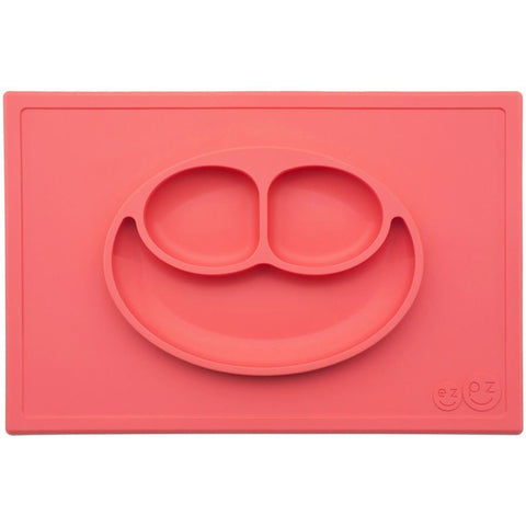 Red Happy Mat