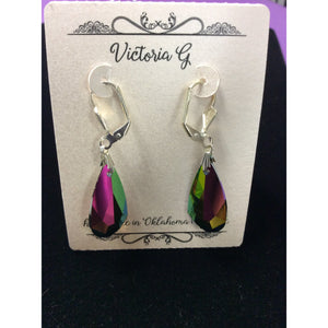 Large Tear Drop Earring