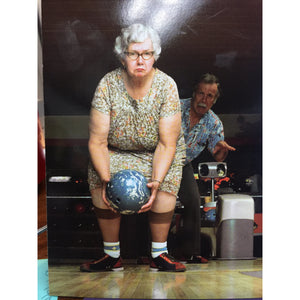 """Bowling Game"" - Greeting Card"