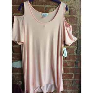 Light Pink Peek-a-boo Tunic