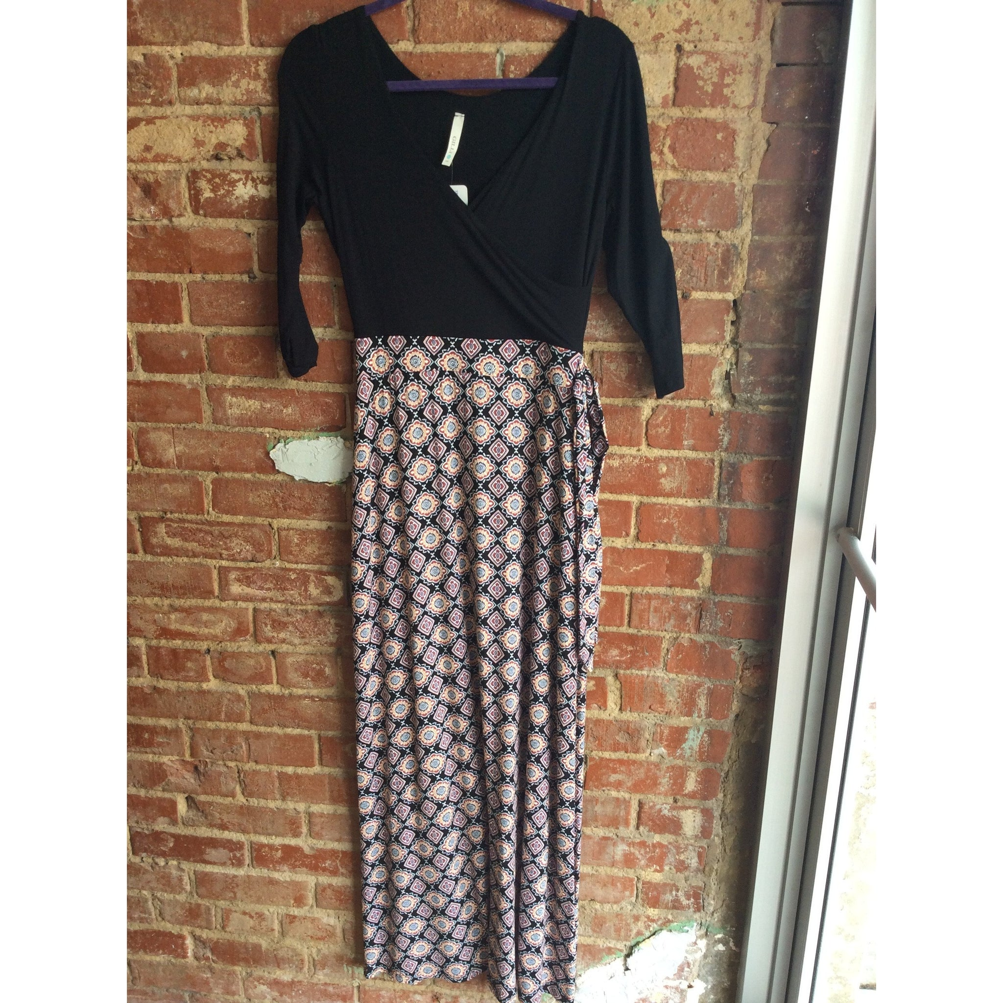 Printed Bottom Maxi