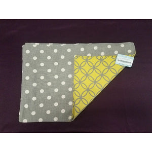 Gray & Yellow Placemat