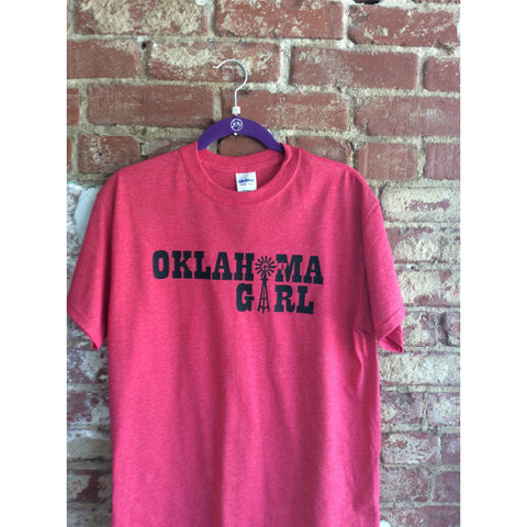 """Oklahoma Girl"" Windmill T-Shirt"