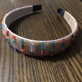 Multicolored Beaded Headband