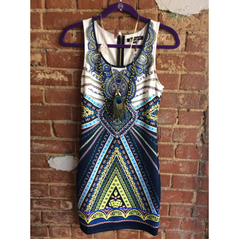 Tribal Bodycon Dress