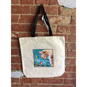 Cat Fish Bowl Tote