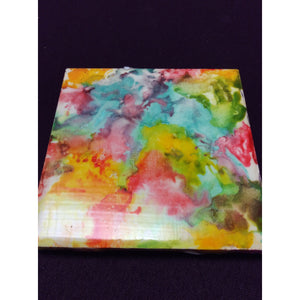 Water Color Tile Coaster