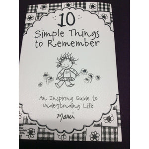 """10 Simple Things"" By Blue Mountain Arts"