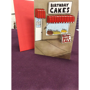 """Blow Out Sale"" Greeting Card"