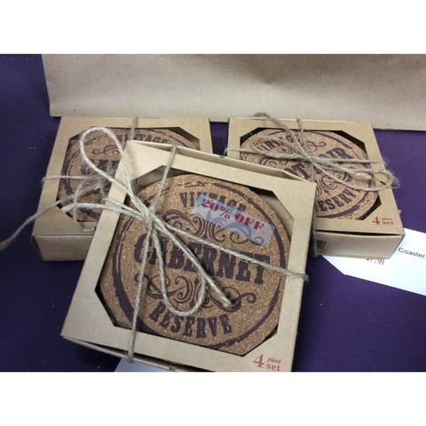 Grapevine Varietal Coaster Set