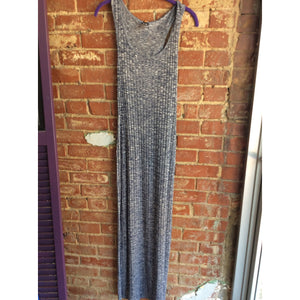 Gray and Navy Plus Size Dress