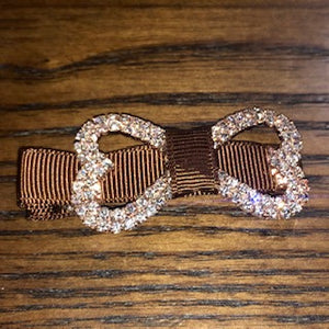 Jeweled Bone Hairbow