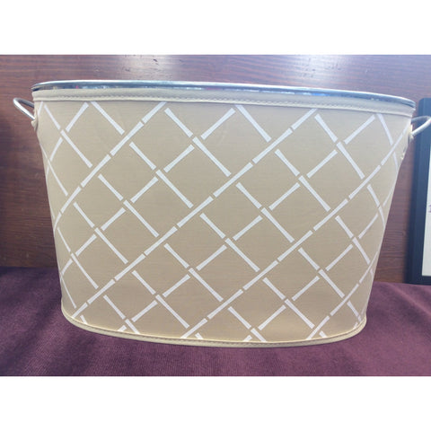 Galvanized Bucket with Reversible Cover