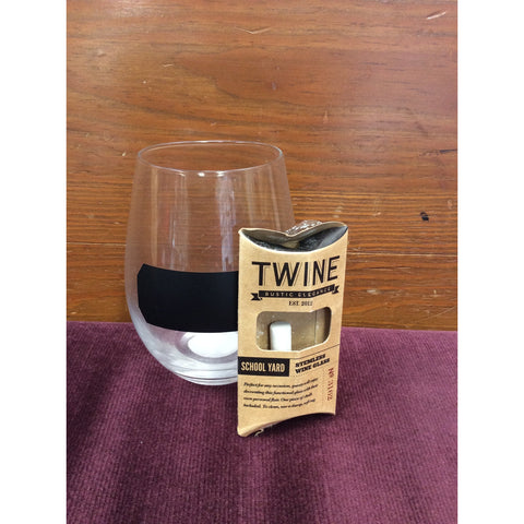 School Yard Stemless Wine Glasses