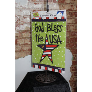 """God Bless the USA"" Flag"