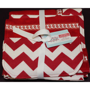 Baby Blankets with 2 burp cloths - OU