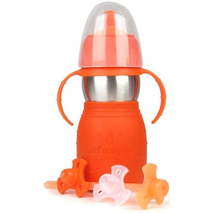The Safe Sippy2 Orange