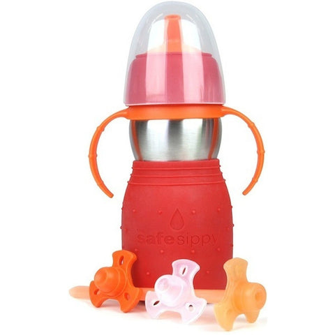 The Safe Sippy2-Red