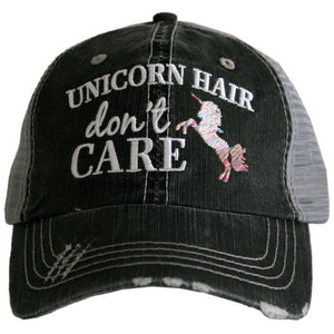 """Unicorn Hair Don't Care"" Trucker Hat"