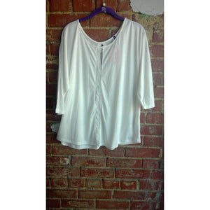 Ivory Plus Size Top
