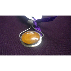 Pendants AMBER OBLONG