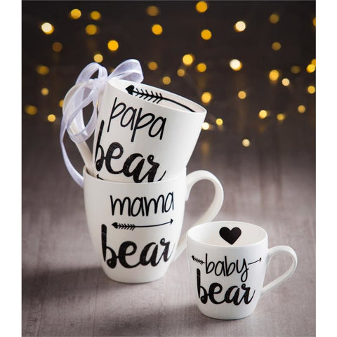 Bear Family Ceramic Cup O' Java Cup Gift Set