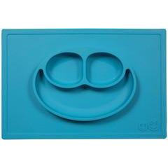 Blue Happy Mat