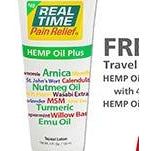 Real Time Pain Relief Hemp Oil Plus