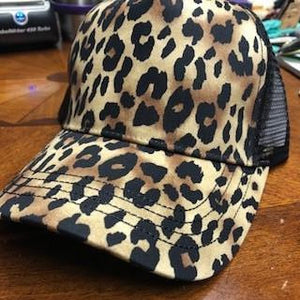 Chatty Cheetah Cap
