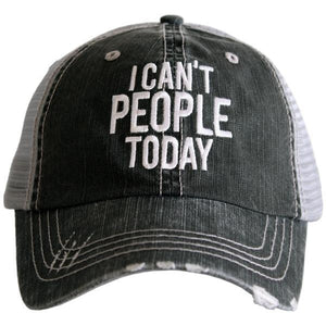 """I Can't People Today"" Trucker Hat"