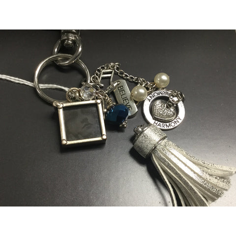 Key Chains handmade from Repurposed Jewelry