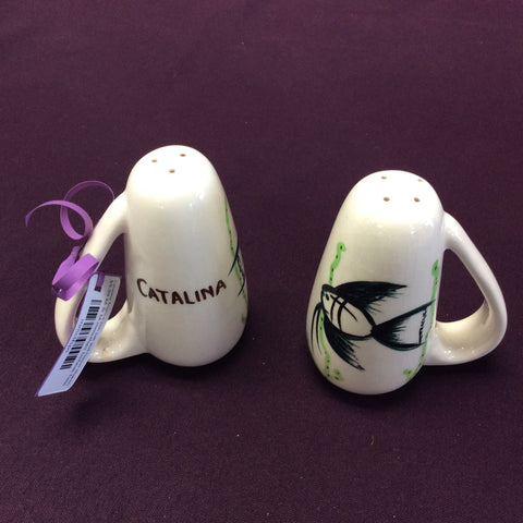 Catalina Tropical Fish Salt and Pepper Shakers