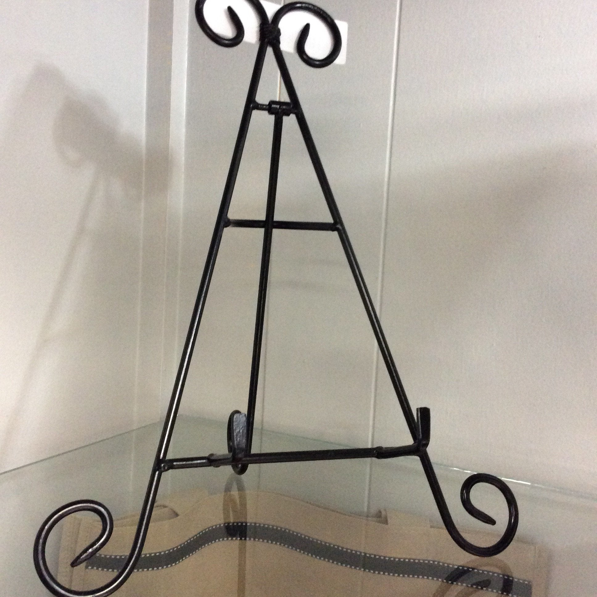 Black Wrought Iron Stand