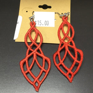 Handmade Lace Earrings
