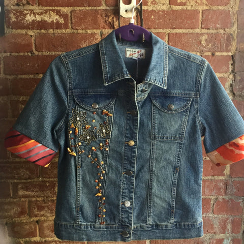 Hand Accented Jean Jackets