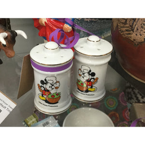 Chef Mickey Mouse Salt and Pepper Shakers