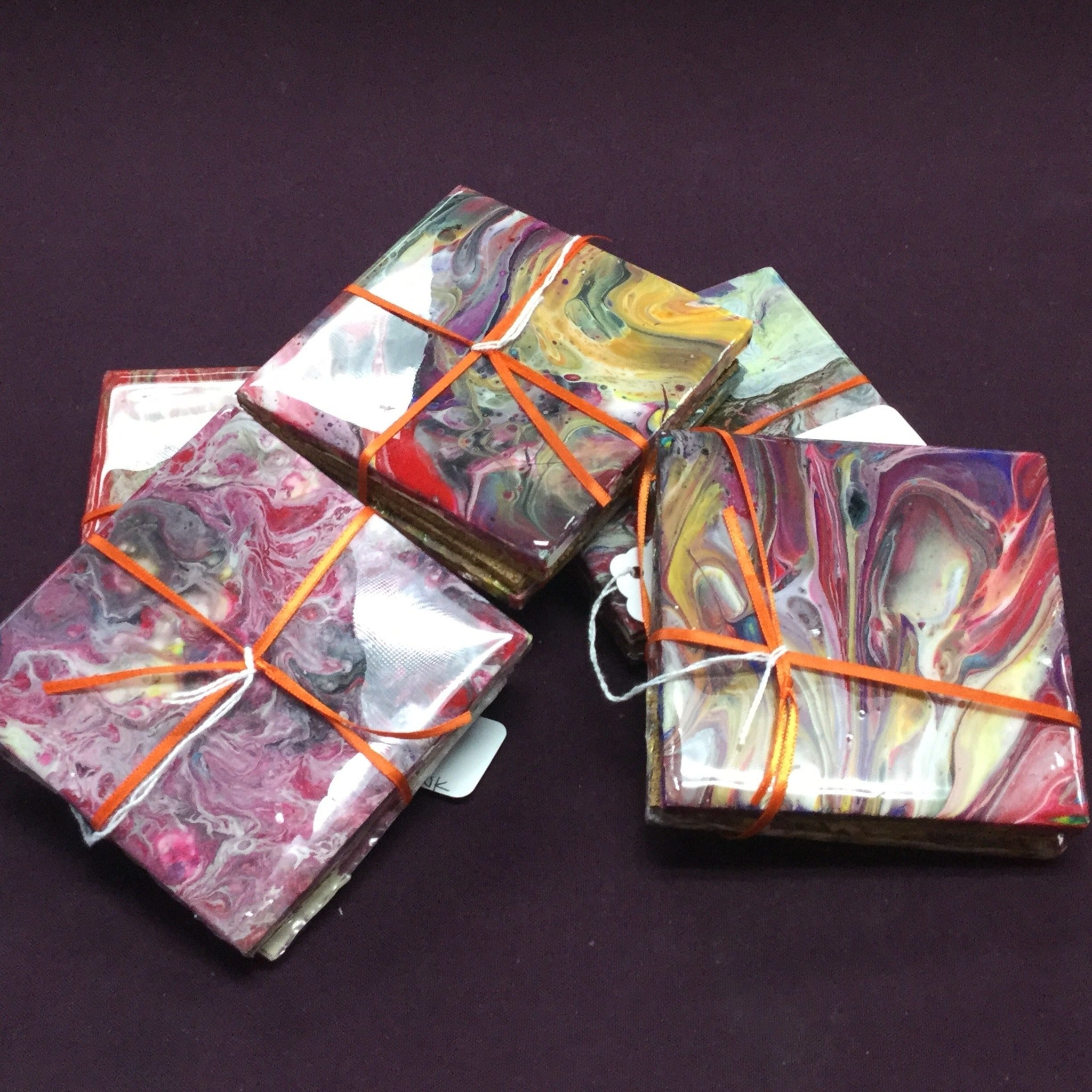 Acrylic/Resin Artwork Coasters