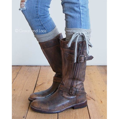 Collegiate Boot Cuffs