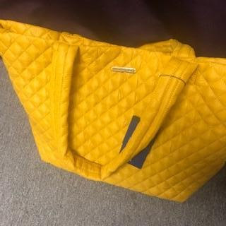 Oversized Quilted Tote/Purse