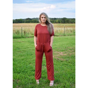 Berry Jumpsuit
