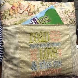Kiss Me Goodnight Winnie the Pooh Storybook Pillow