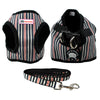 Image of Cute Puppy / Small Dog Coat Style Harness and Walking Leash Set - FOURPAWPALS